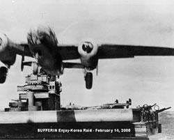 進発する第一次戦術爆撃隊