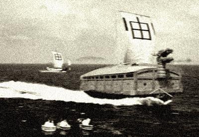 出撃する李泰鎮艦隊